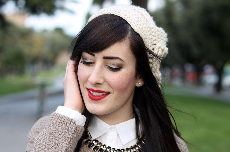 outfit-natale-make-up-ombretto-dorato-rossetto-rosso