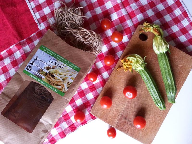 Recensione e Ricetta della Pasta con farina di Amaranto e farina di Konjac