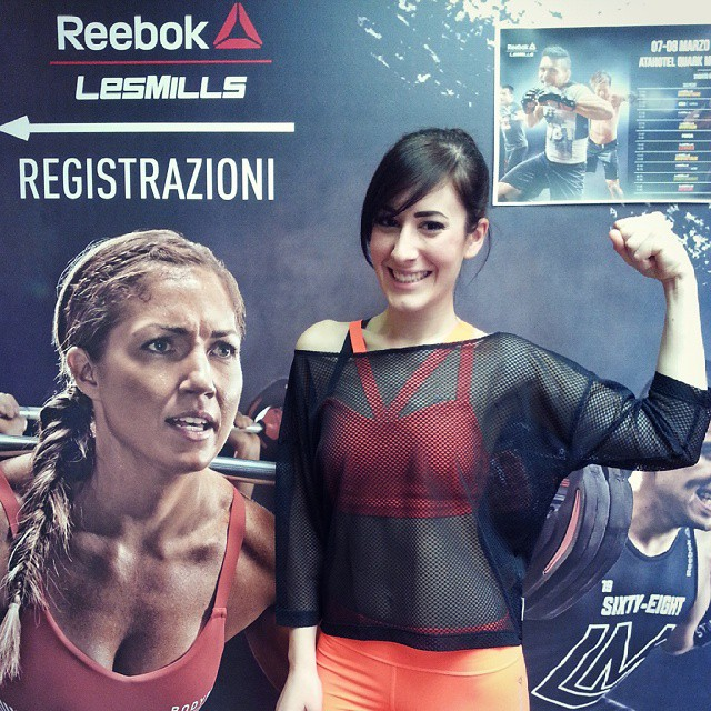 reebok fitness experience milano 2015