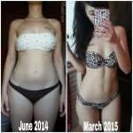 bikini body guide kayla itsines risultati foto prima dopo fedelefreaks