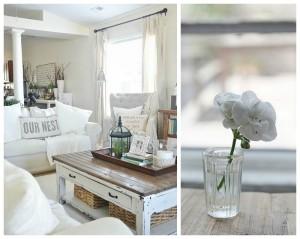 Nella casa che vorrei bianco fiori e shabby chic le - Vorrei ristrutturare casa ...