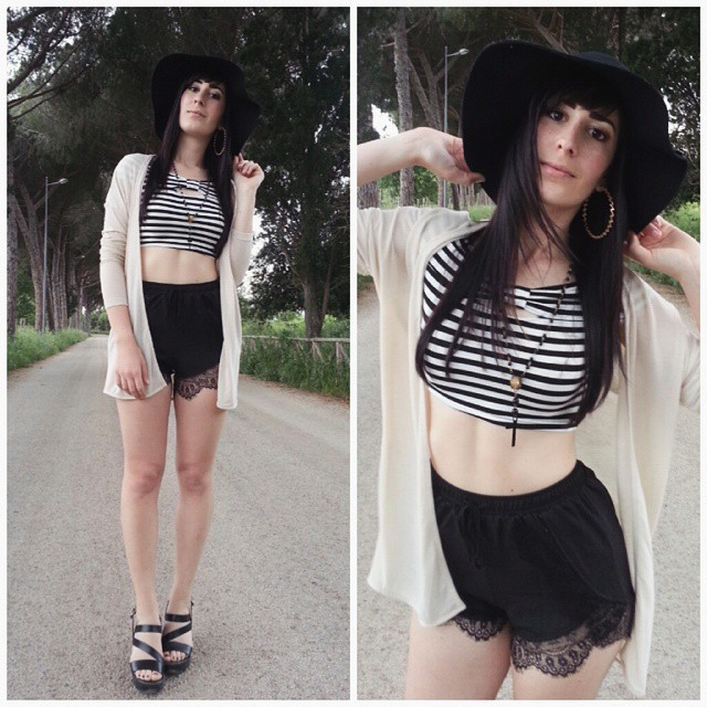 outfit-boho-pantaloncini-sheinside