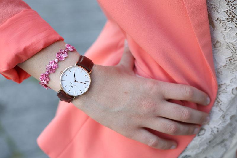 orologio daniel wellington braccialetto cruciani