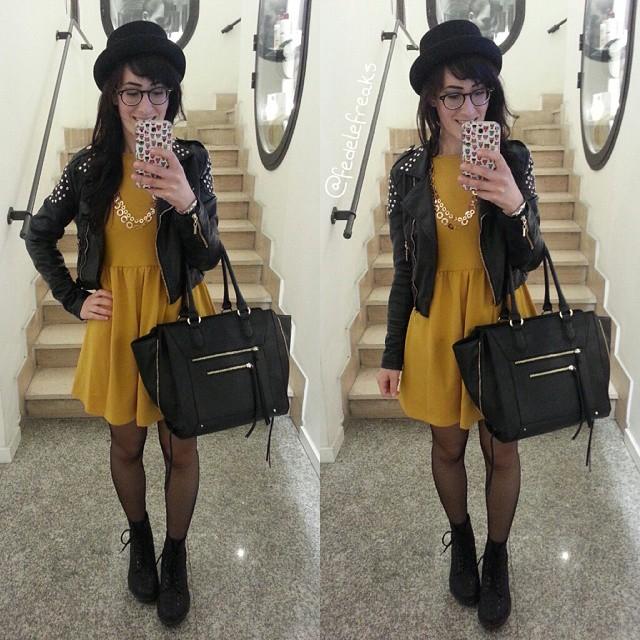 outfit-rock-vestito-senape-asos