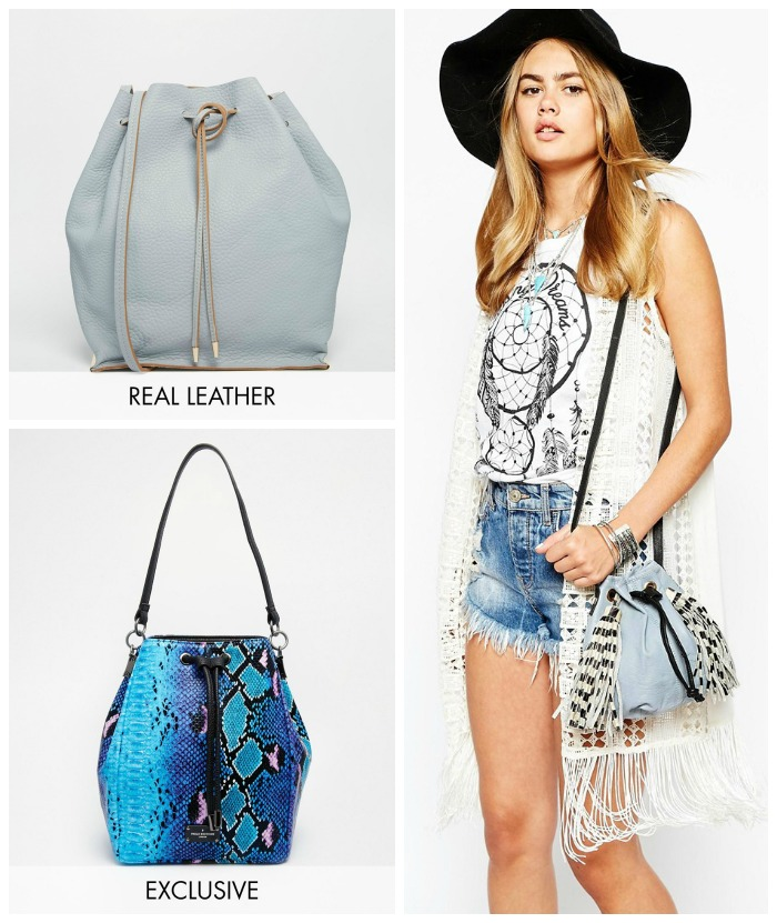 tendenze moda estate 2015 borsa secchiello asos