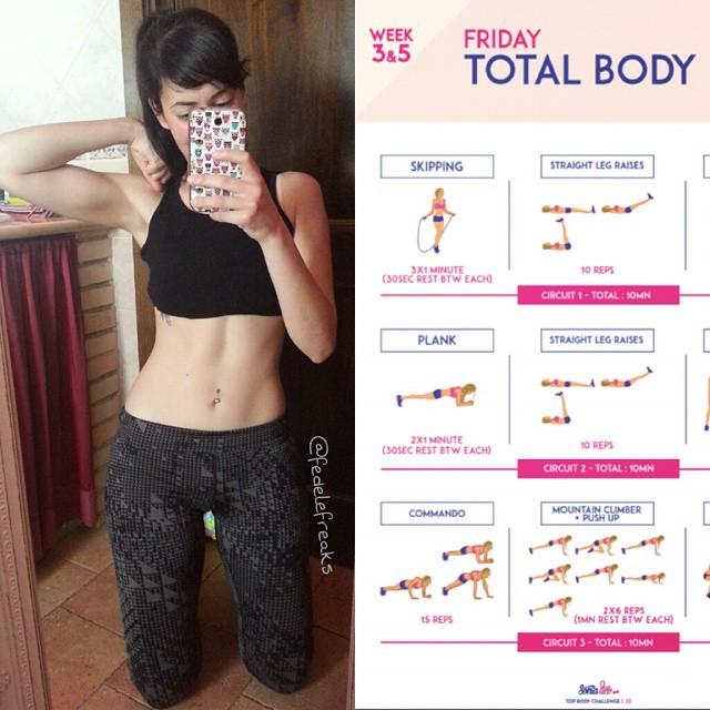 top body challenge sonia tlev spiegazione come funziona