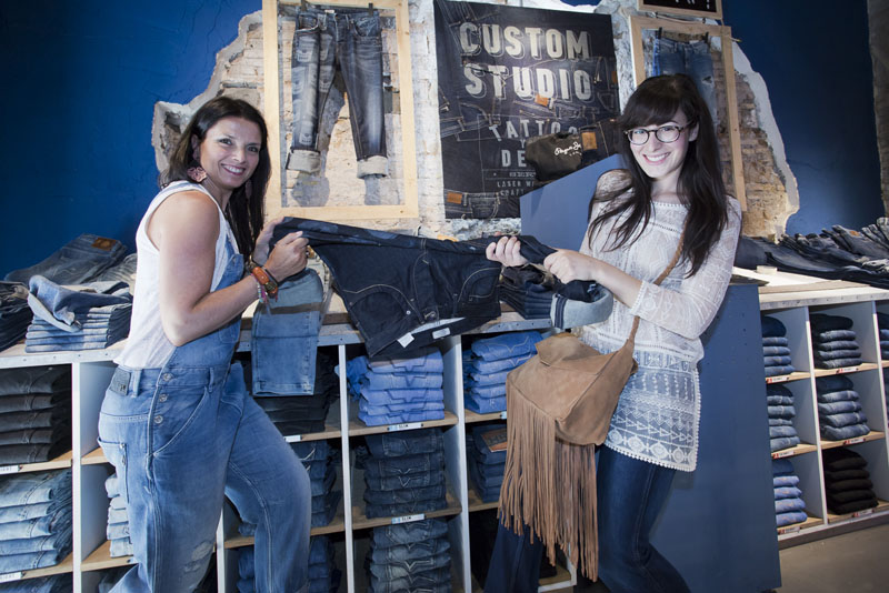 pepe jeans custom studio blogger day roma federica orlandi