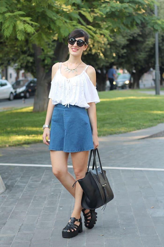 outfit-anni-90-gonna-jeans-scarpe-cult-shoes-borsa-celine-2