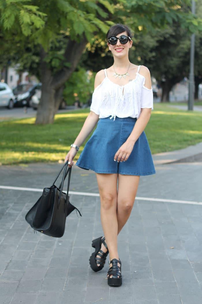 outfit-anni-90-gonna-jeans-scarpe-cult-shoes-borsa-celine-5