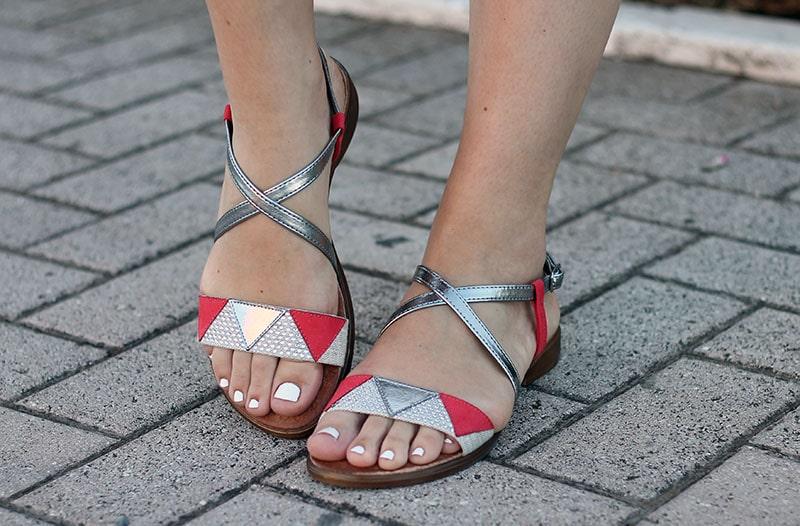 outfit estate sandali mercante di fiori