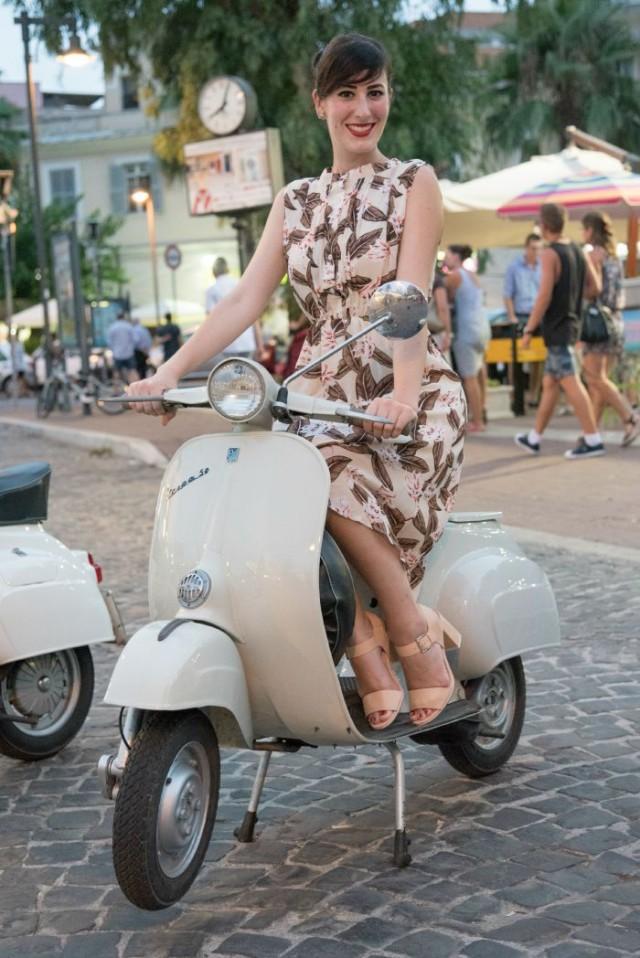 outfit pin up moda anni 50 ladispoli vintage