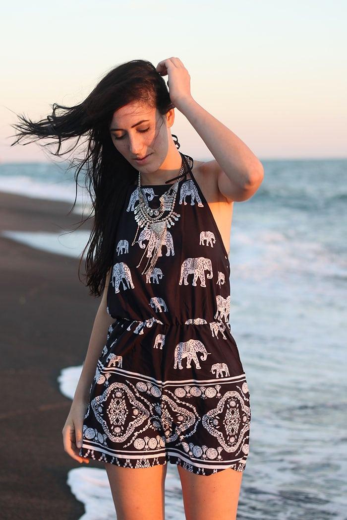 outfit tutina jumpsuit elefanti etnica sheinside