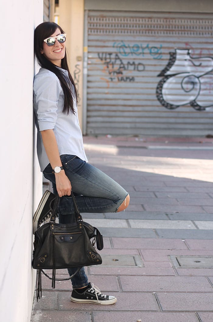 outfit-casual-jeans-camicia-occhiali-da-sole-wolfnoir-2