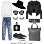 outfit borsa borbonese