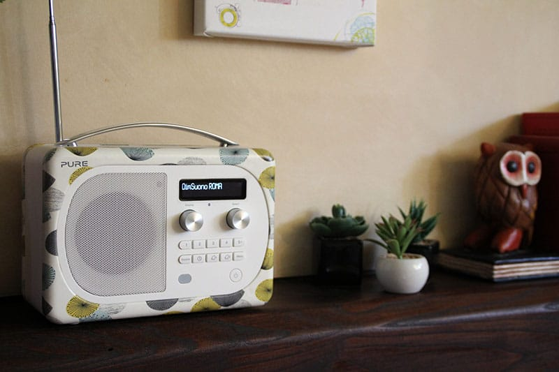 Evoke D4 Mio Dandelion by Sanderson radio digitale pure