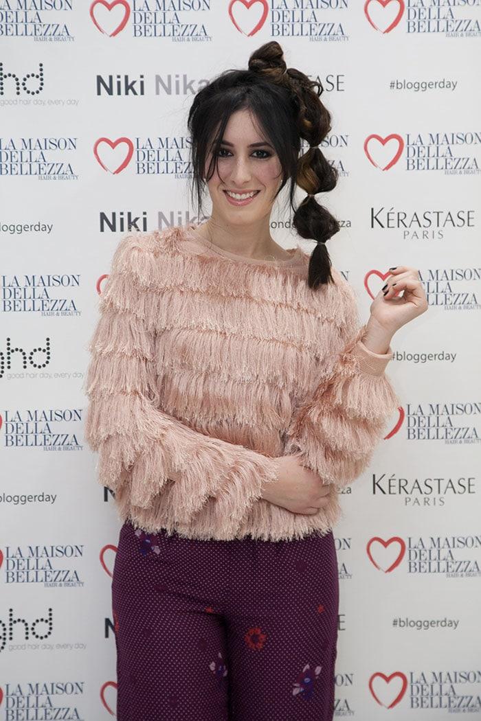 evento blogger day la maison della bellezza hair beauty salone parrucchieri roma