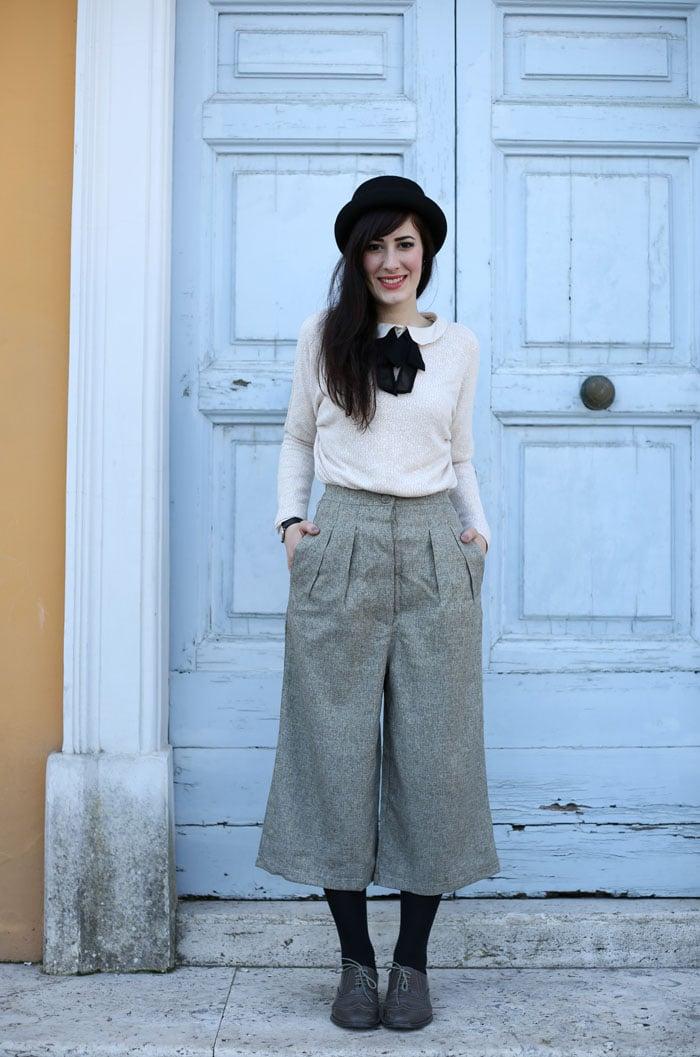b5cc2395421471 L'outfit del mio compleanno con culotte e bombetta | Le Freaks