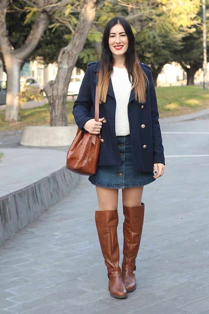 outfit-cappotto-petit-bateau-stivali-cuissardes-gonna-jeans-7