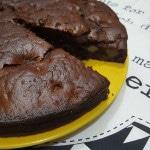 ricetta torta vegana cioccolato pere facile buona leggera
