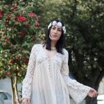 outfit boho hippie anni settanta moda primavera 2016 fashion blogger roma