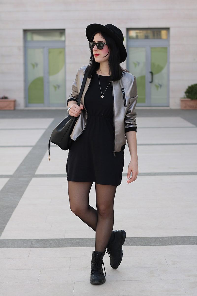 outfit-bomber-metallizzato-borsa-secchiello-4