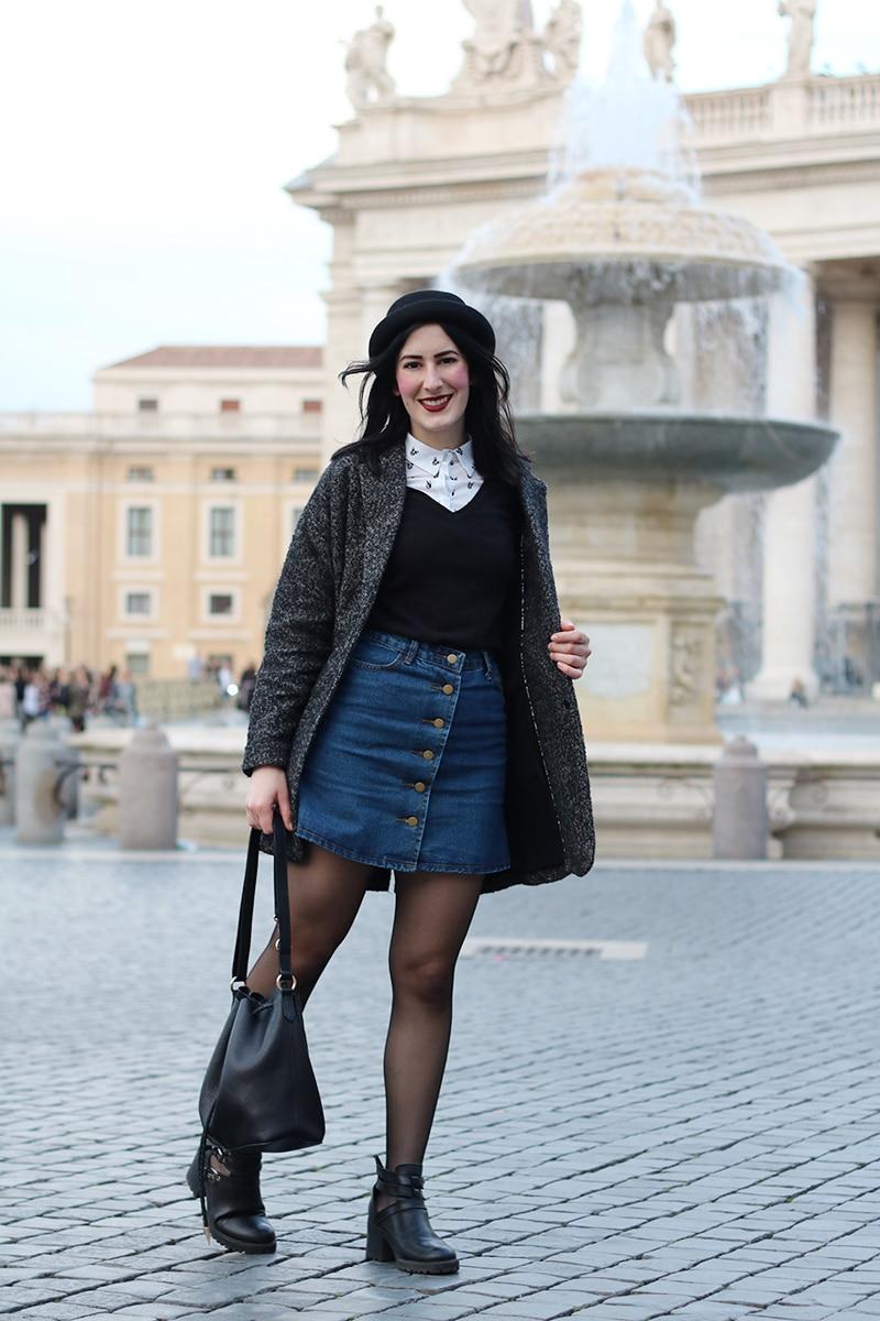 outfit-hipster-gonna-jeans--bombetta-borsa-secchiello-accessorize-2a