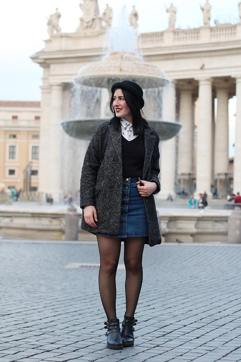 outfit-hipster-gonna-jeans--bombetta-borsa-secchiello-accessorize-3a