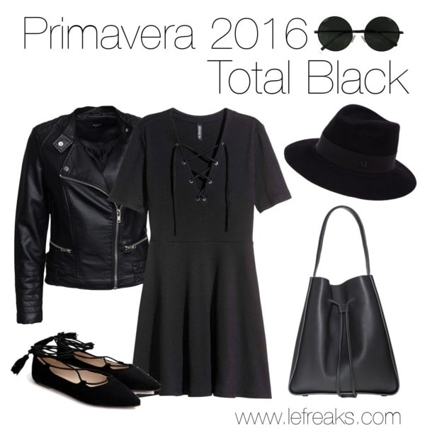 outfit-primavera-2016-tendenze-moda-total-black