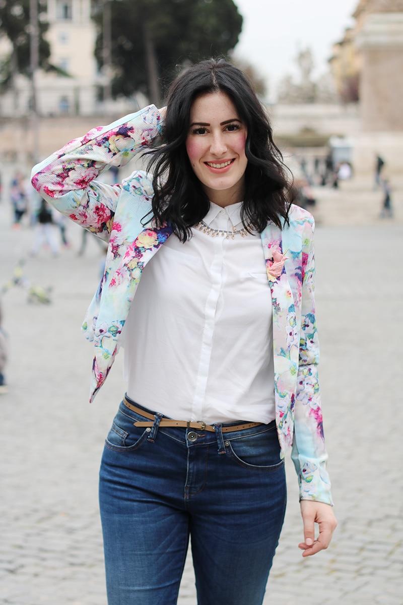 outfit-primavera-blazer-floreale-stringate-pittarello-fashion-blogger-roma-5