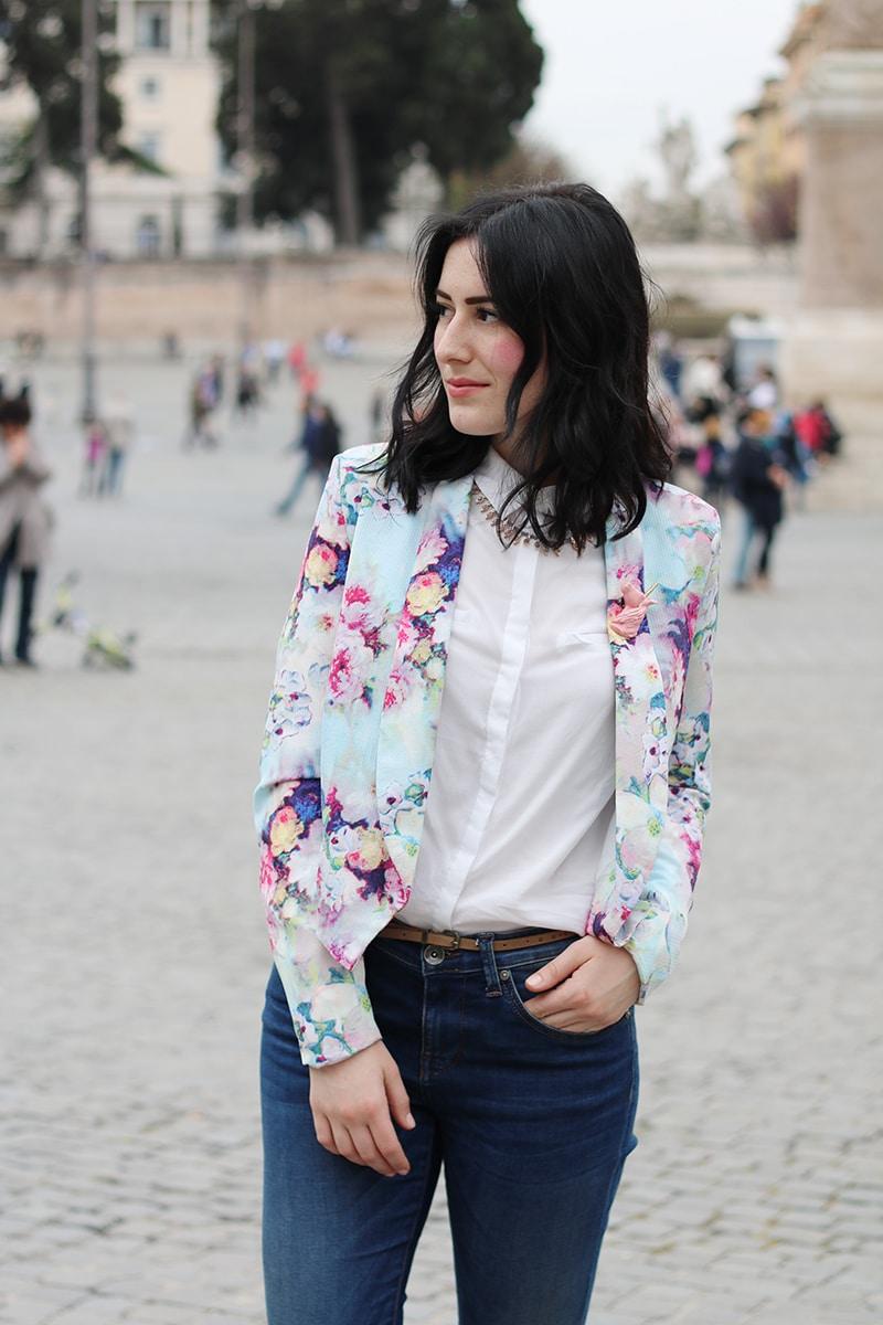 outfit-primavera-blazer-floreale-stringate-pittarello-fashion-blogger-roma-6