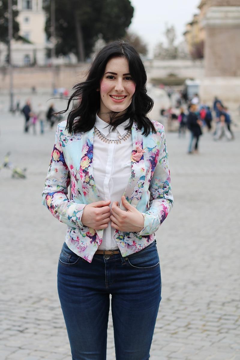 outfit-primavera-blazer-floreale-stringate-pittarello-fashion-blogger-roma-7