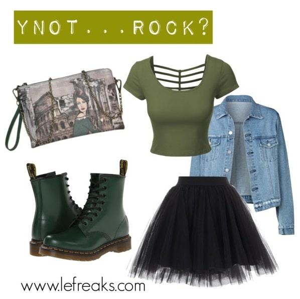 borse ynot primavera estate 2016 outfit rock