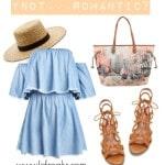 borse ynot primavera estate 2016 outfit romantico
