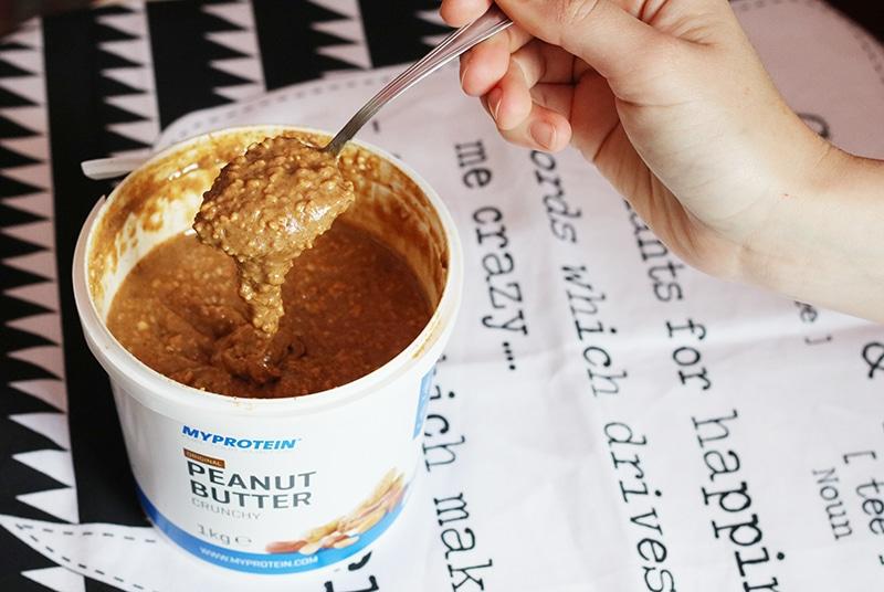 recensione burro d'arachidi croccante myprotein