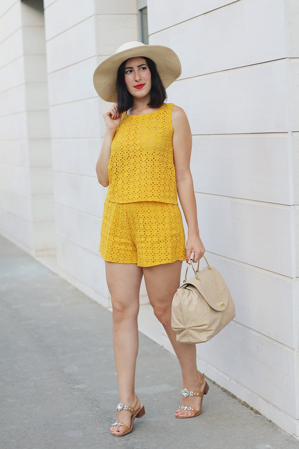 outfit-estate-completino-giallo-shein-3