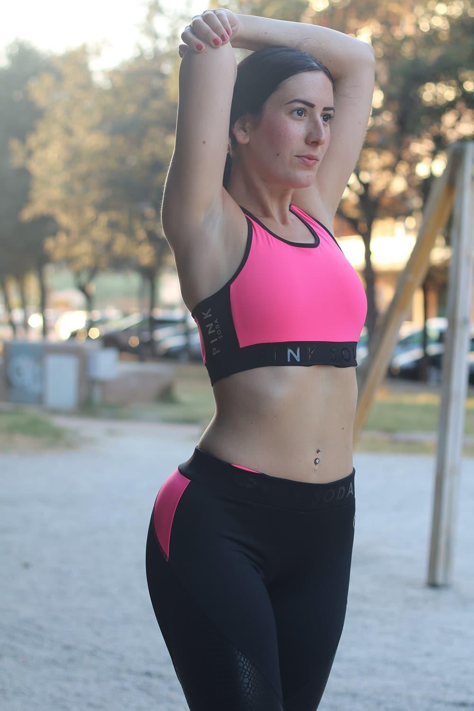 Pink Soda abbigliamento sportivo donna