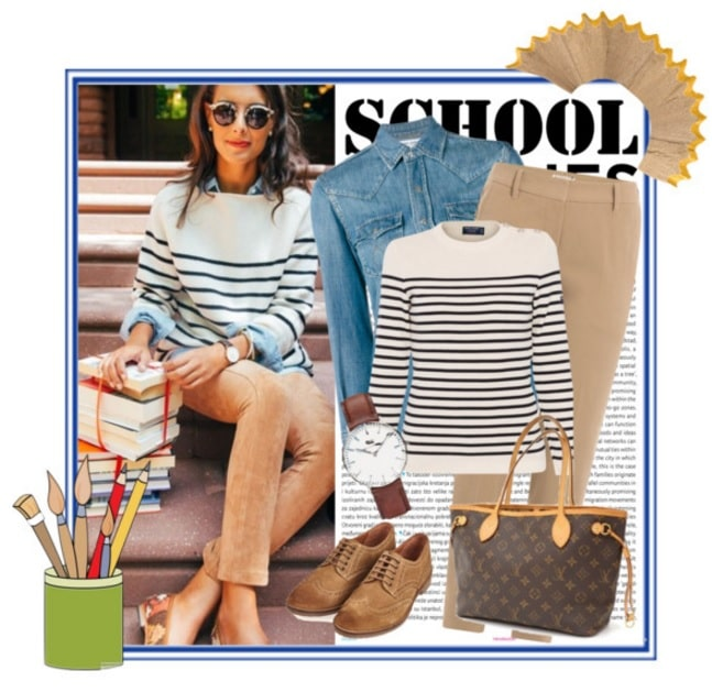 Come vestirsi a scuola