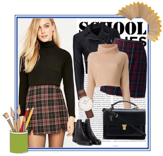 come vestirsi a scuola outfit collegiale