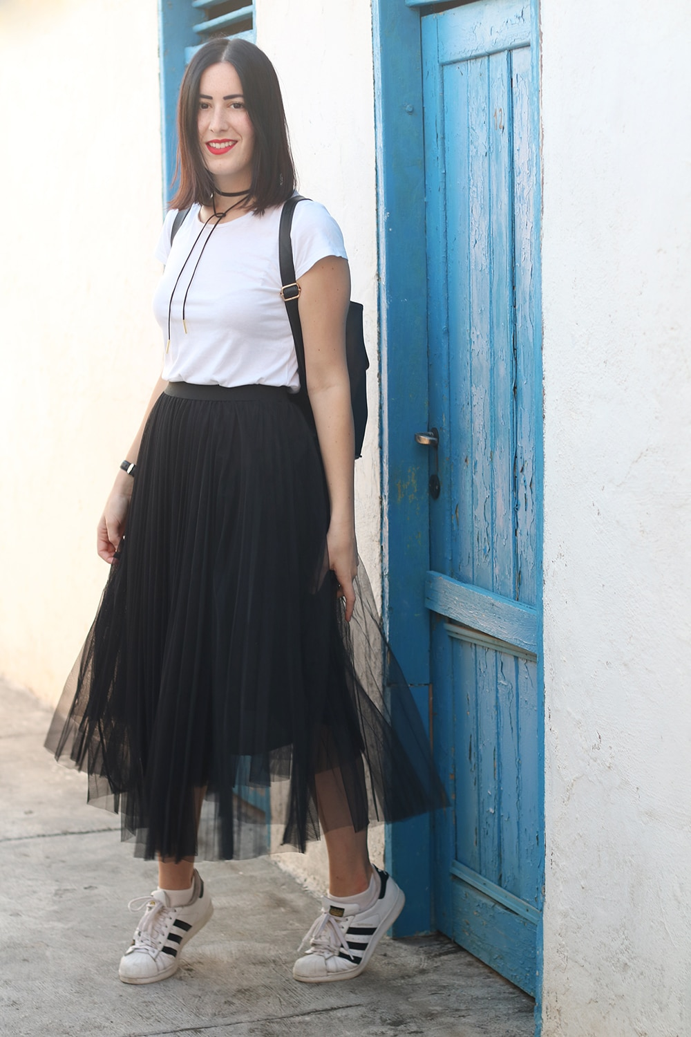 Un Outfit Con Gonna In Tulle