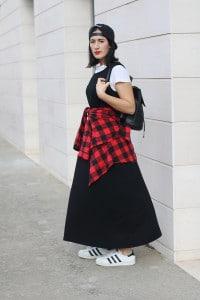 outfit t-shirt vestito tendenza moda