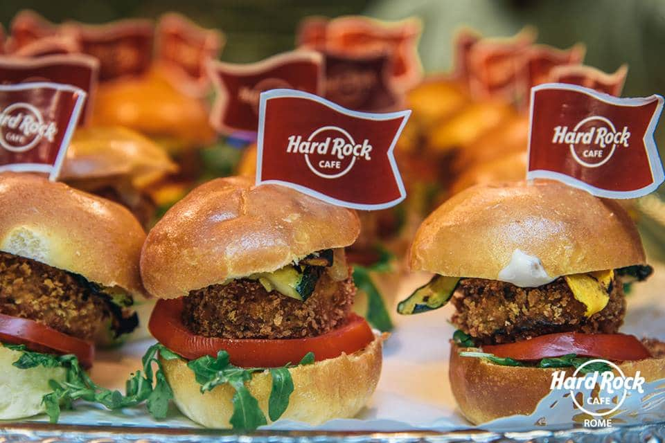 hard rock cafe menu vegetariano vegano