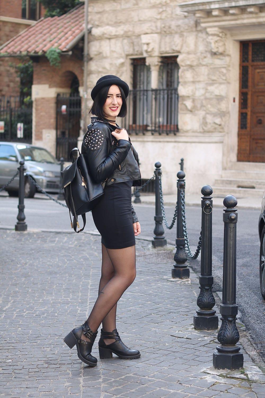 outfit-per-universita-little-black-dress-rock-3