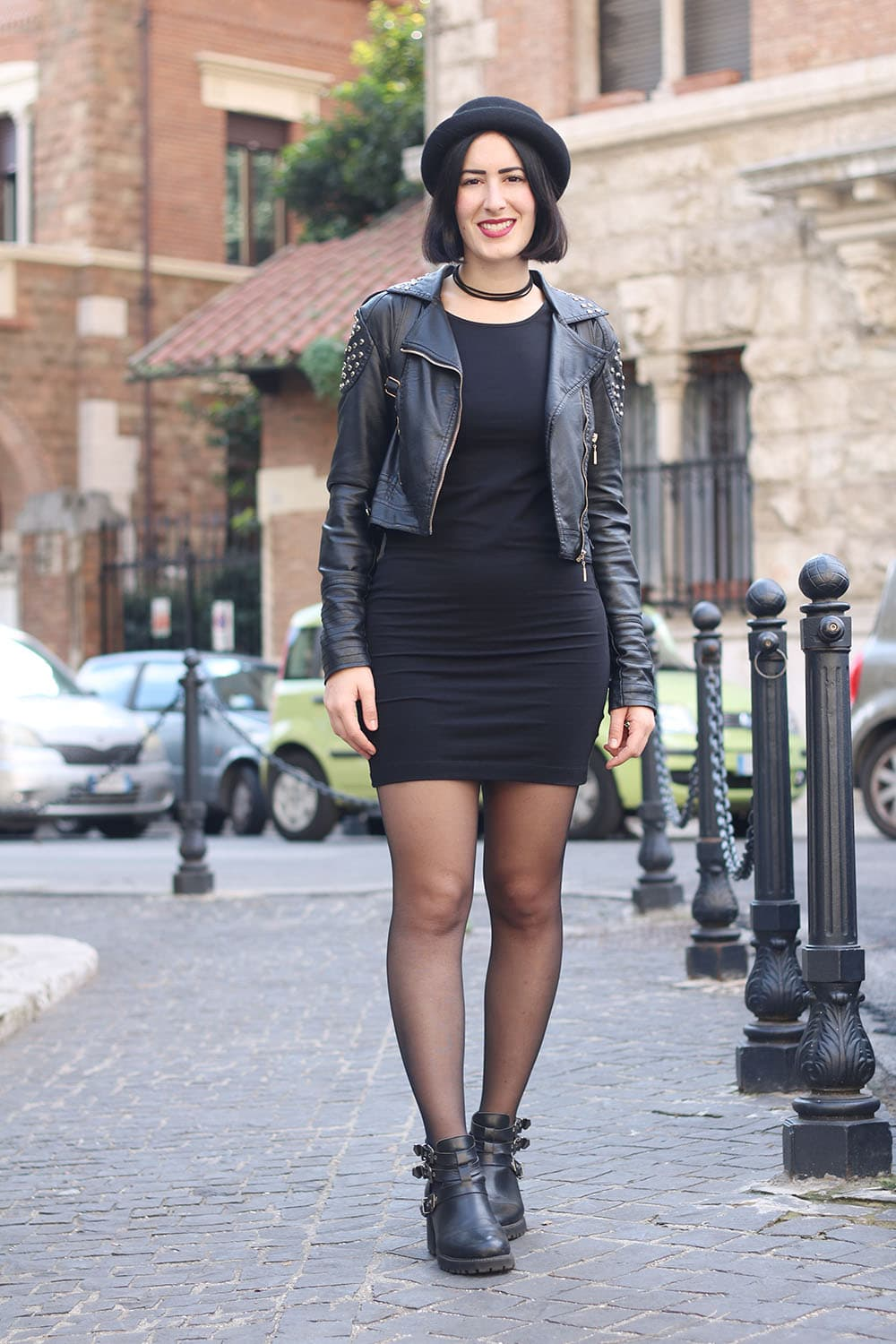 outfit-per-universita-little-black-dress-rock-4