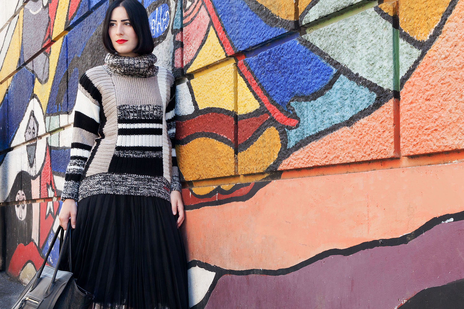 outfit-stile-urban-maglione-desigual-gonna-tulle-7