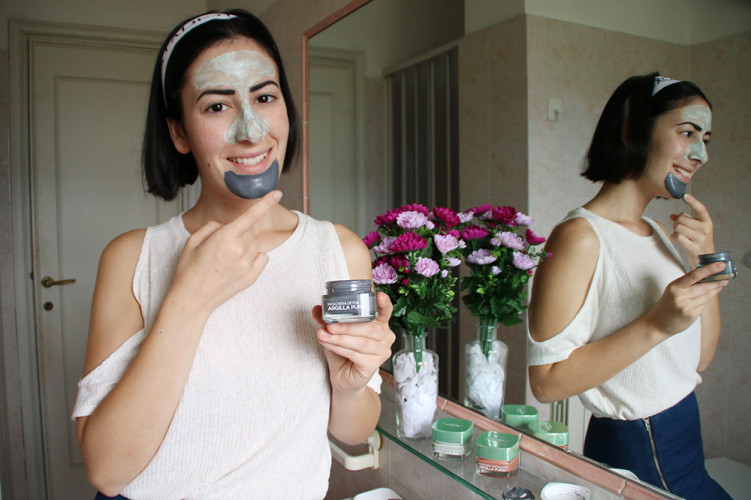 maschere viso argilla pura l'oreal