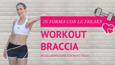 video workout braccia