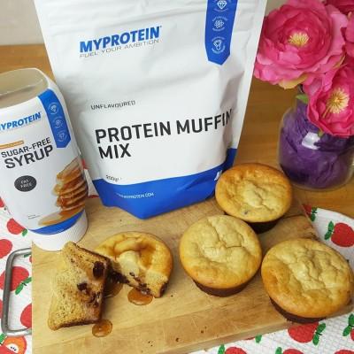 ricetta muffin proteici myprotein impasto pronto
