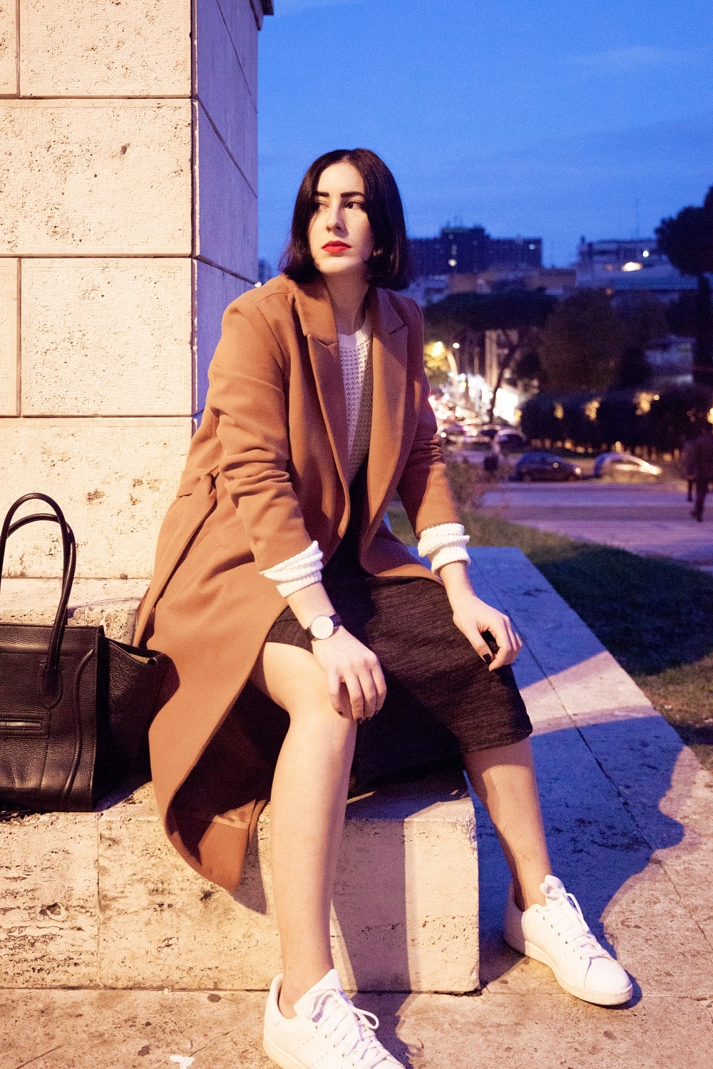 outfit-cappotto-cammello-stan-smith-4