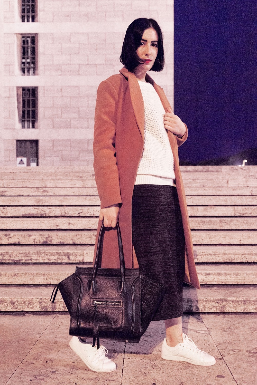 outfit-cappotto-cammello-stan-smith-5