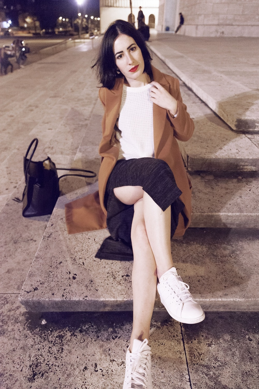 outfit-cappotto-cammello-stan-smith-8